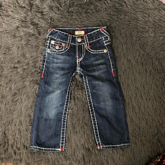 4ca156af8 True Religion Boys Ricky Jeans Straight Fit 2T. M_5c3fb246c61777774f0958dd